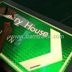 สติกเกอร์สะท้อนแสง The Gallery House PATTERN