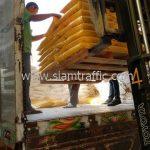 สี thermoplastic สีเหลือง ส่งไปสำนักงานทางหลวงชนบทที่ 10 จังหวัดเชียงราย จำนวน 250 ถุง