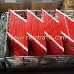 แผงเหล็กกั้น ขาว-แดง ขนาด 1.5 เมตร Central Phuket