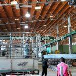 โรงงานผลิตการ์ดเรล ส่งการ์ดเรลไปแขวงทางหลวงชนบทพะเยา