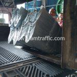 guardrail กรมทางหลวง ส่งไปที่ตำบลบางเดื่อ อำเภอเมือง จังหวัดปทุมธานี จำนวน 200 แผ่น