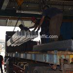 จำหน่าย guard rail ส่งไปนิคมอุตสาหกรรมมาบตาพุด จังหวัดระยอง