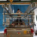 ราวเหล็กกั้นถนน มอก.248-2531 ส่งไปที่อำเภอเมือง จังหวัดปทุมธานี