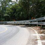 ราวเหล็กกั้นถนน มอก.248-2531 ติดตั้งที่ดอนไชย - ห้วยหญ้าไทร เชื่อมโยง จังหวัดลำปาง - จังหวัดลำพูน