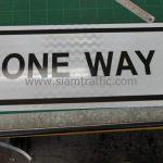 ป้ายข้อความ ONE WAY