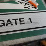 ป้าย GATE 1