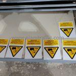 ป้าย safety ป้ายระวังสารเคมีกัดกร่อน บริษัท เซ็นทรัลพัฒนา จำกัด (มหาชน)