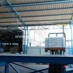 สีเทอร์โมพลาสติกสีขาว มอก. 542-2549 จำนวน 1,200 ถุง ปลายทางเมืองเมียวดี ประเทศพม่า