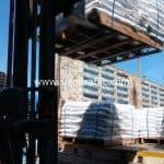 เทอร์โมพลาสติก thermoplastic มอก. 542-2549 จำนวน 1,200 ถุง ปลายทางเมืองเมียวดี ประเทศพม่า